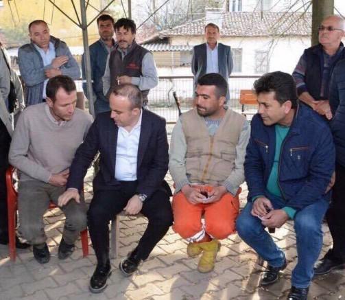 1 Mayıs Emek ve Dayanışma Günümüz Kutlu Olsun Ak PArti Grup Başkanvekili ve Çanakkale Milletvekili Bülent Turan
