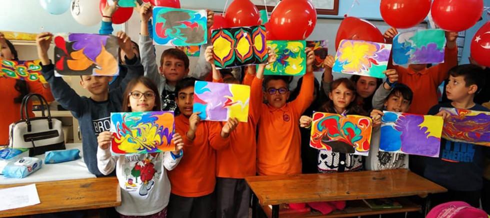 75. Yıl İlkokulu'nun Çocuk Oyunları Şenliği