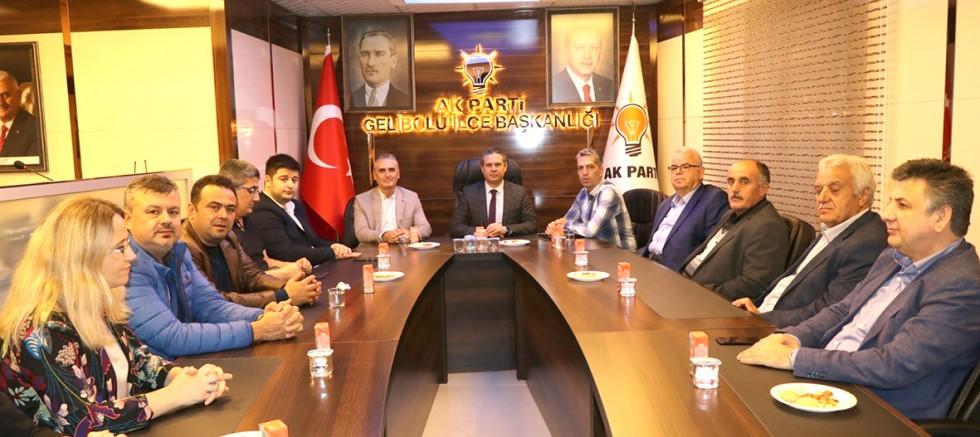 """AK Parti'de """"Daraltılmış İlçe Danışma Meclisi Toplantısı"""""""