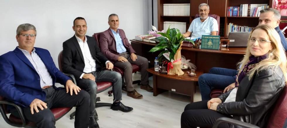 AK Parti'den Müftü Özler'e Ziyaret