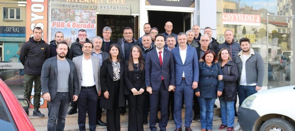 AK Parti İl Başkanı Makas'tan İlçemize Ziyaret