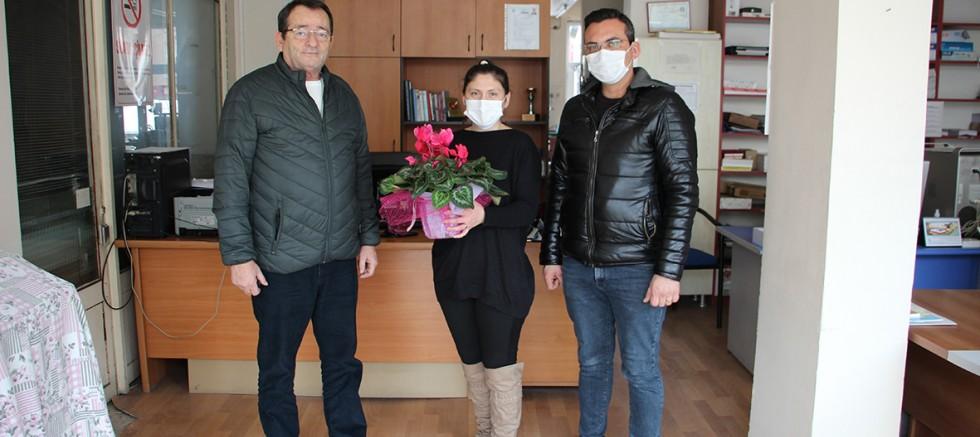 Altunay'dan Gazetemize Ziyaret