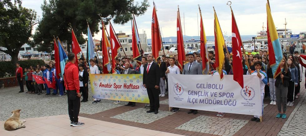 Amatör Spor Haftası Kortej Yürüyüşü Gerçekleştirildi