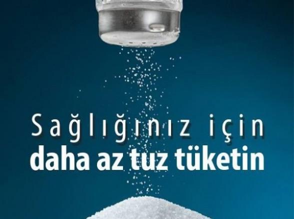 Aşırı Tuz Tüketimini Azaltmak İçin Hep Birlikte Hareket Edelim