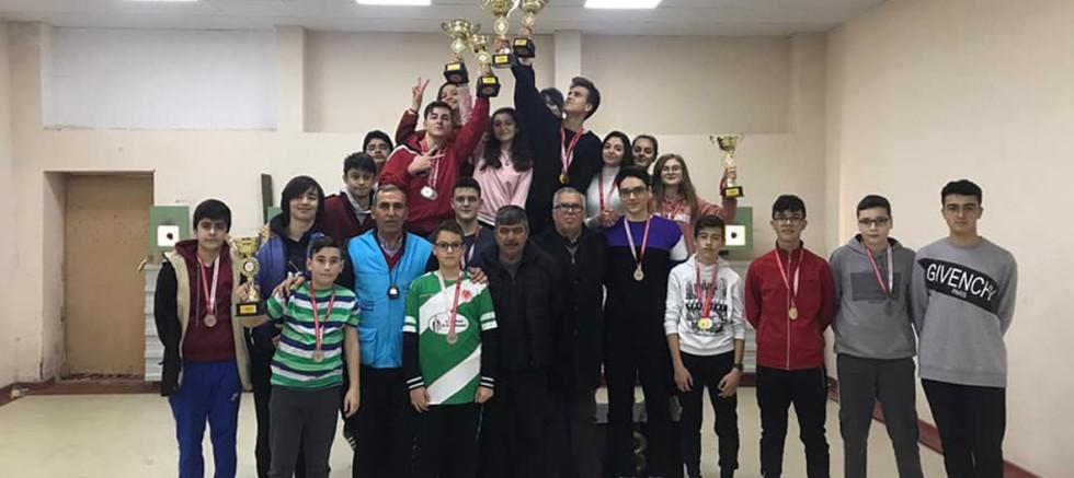 Avcılık ve Atıcılık Okul Sporları Yarışları Gerçekleşti