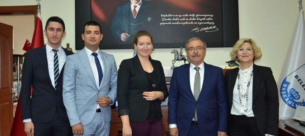 Başkan Özacar'a SGK Haftası Ziyareti