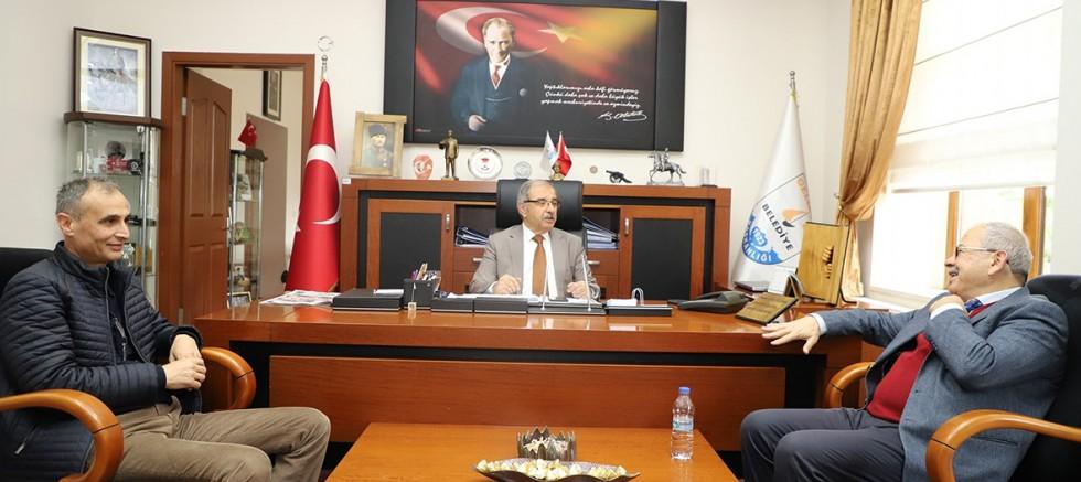 Başkan Özacar'a Ziyaretler Sürüyor