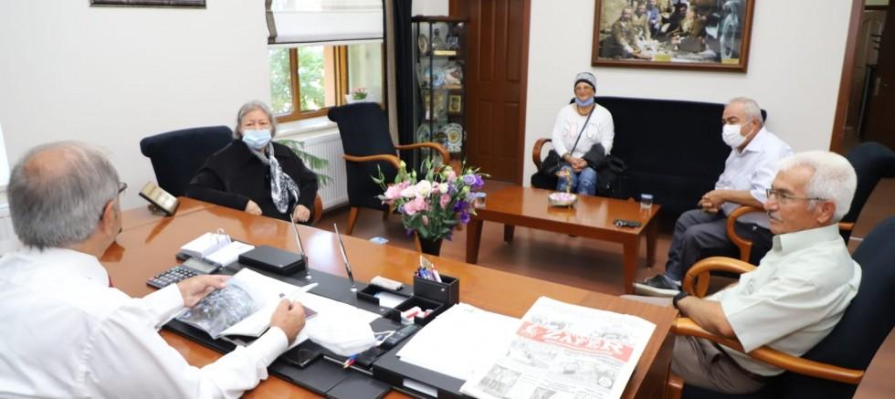 Başkan Özacar'a Ziyaretler