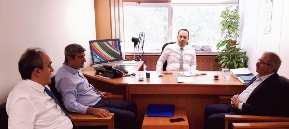 Başkan Özacar Ankara Ziyaretlerinde