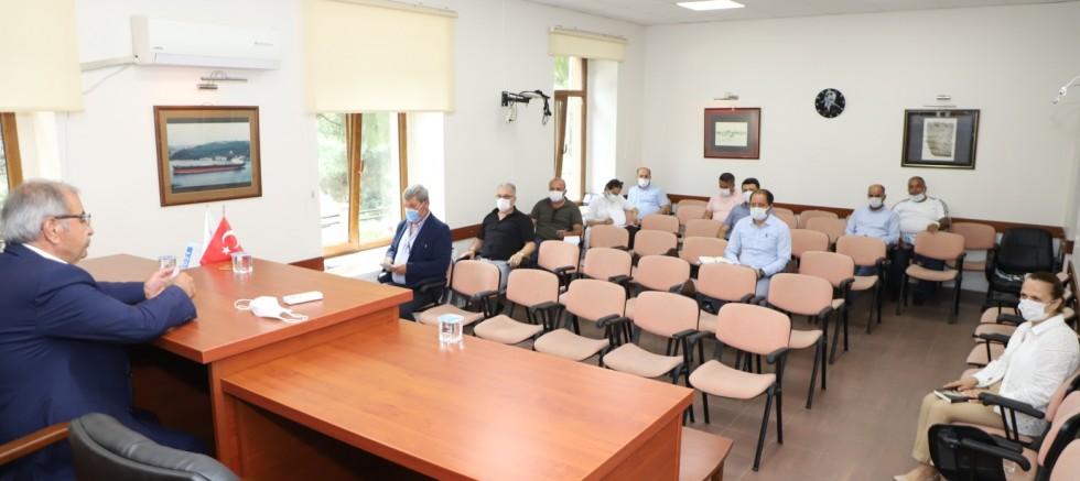 Başkan Özacar'dan, Birim Amirleriyle Haftalık Toplantı