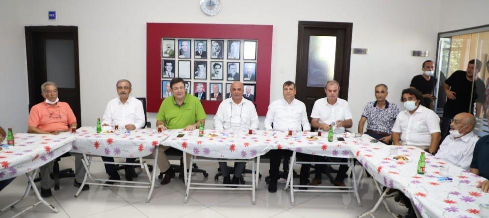 Başkan Özacar'dan Çardak Ziyareti