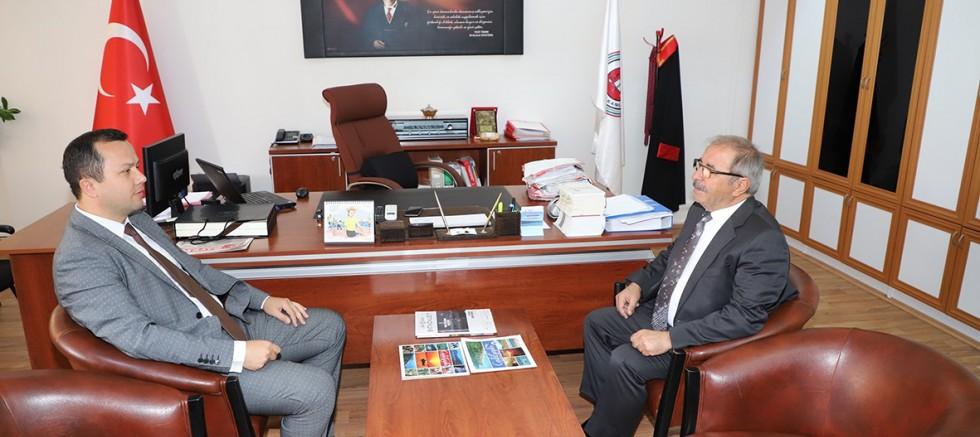 Başkan Özacar'dan Savcı ve Hakimlere Ziyaret