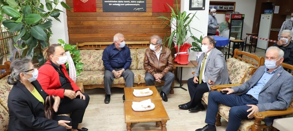 Başkan Özacar'dan TEMAD'a Ziyaret