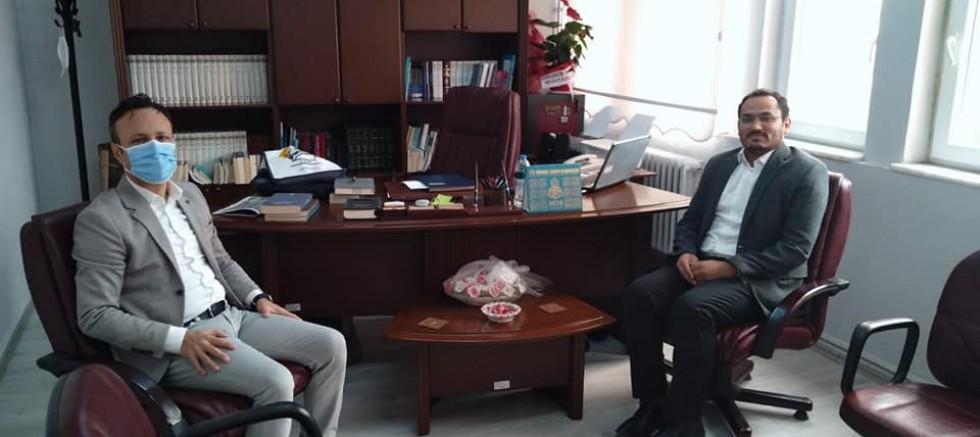 Başkan Soyuak'tan Müftü Turgut'a Ziyaret