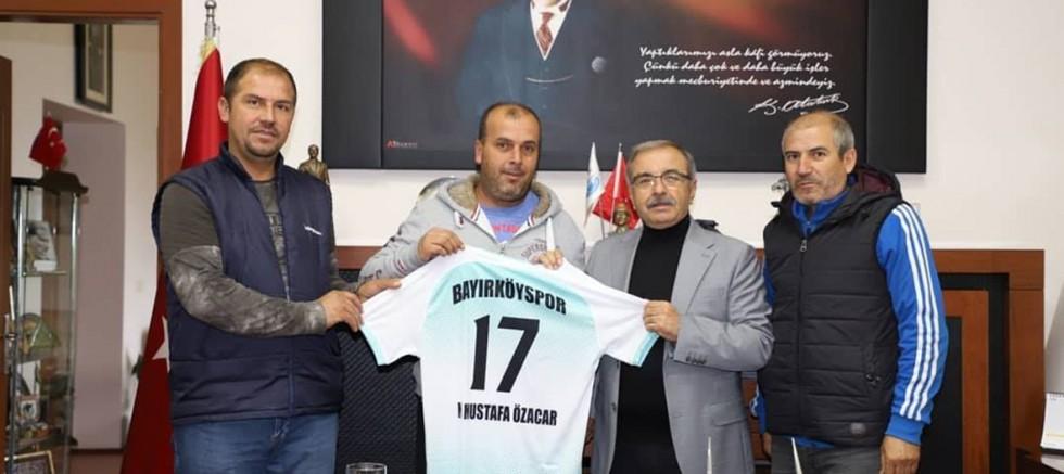 Bayırköyspor Yönetiminden Başkan Özacar'a Ziyaret