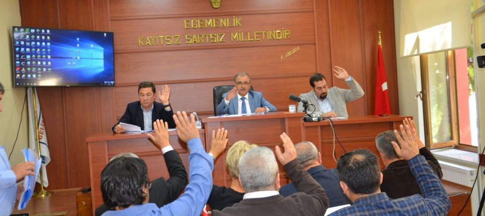 Belediye Meclisi Ekim Ayı Mesaisi Tamamlandı