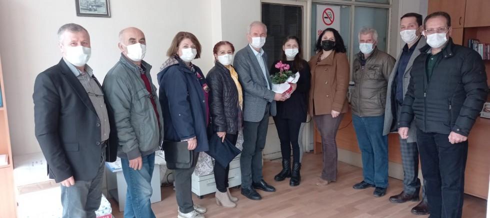 CHP'den Çalışan Gazeteciler Günü Ziyareti