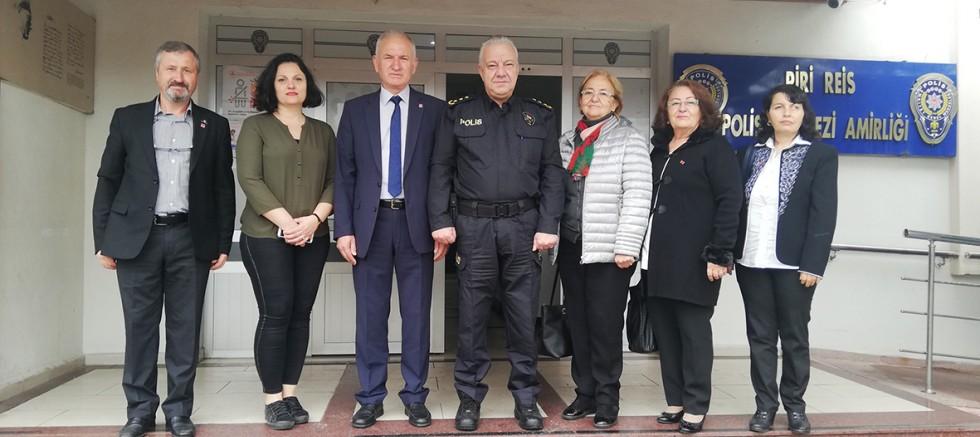 CHP'den Emniyet Müdürü Güçlü'ye Ziyaret