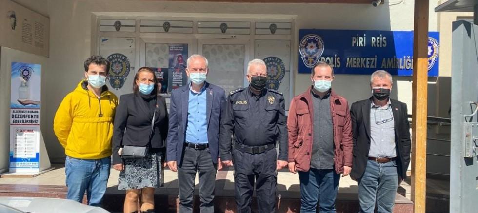 CHP'den Polis Haftası Ziyareti