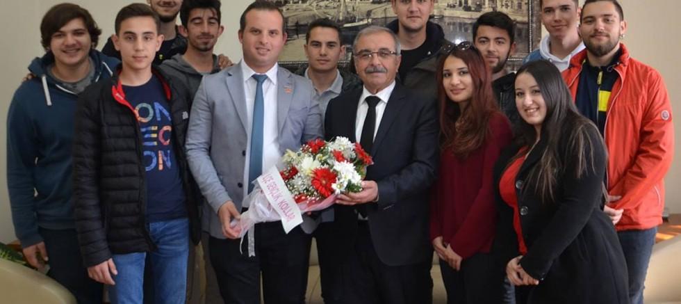 CHP Gençlik Kollarından Özacar'a Ziyaret