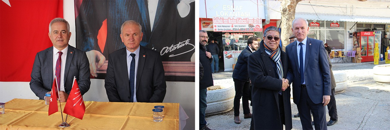 CHP İl Başkan Adayları Partililerle Buluştu