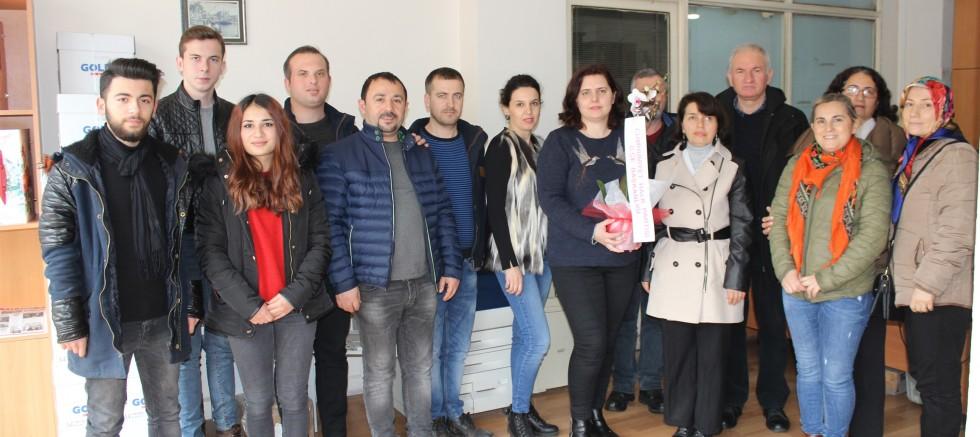 CHP İlçe Başkanlığı'ndan Gazetemize Ziyaret