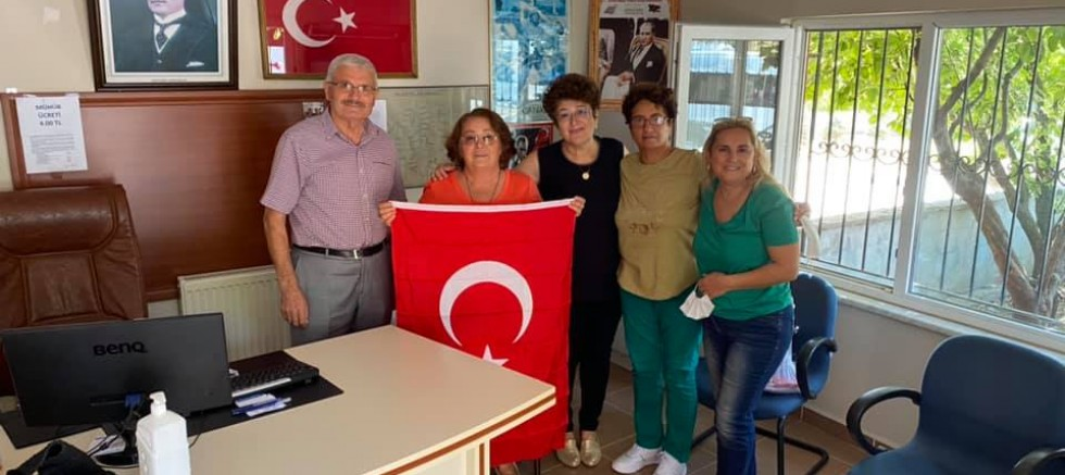 CHP Kadın Kollarından Muhtarlara Ziyaret