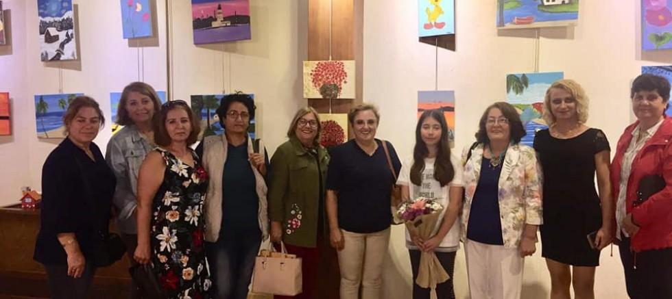 CHP Kadın Kollarından Sergi Ziyareti