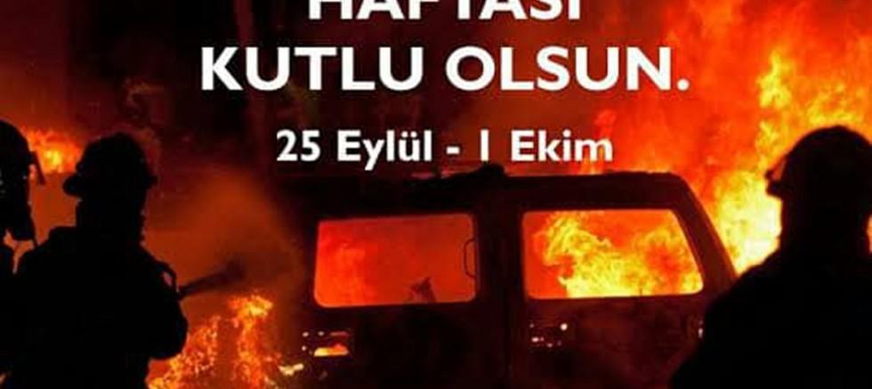 CHP'nin, İtfaiyeciler Haftası Mesajı