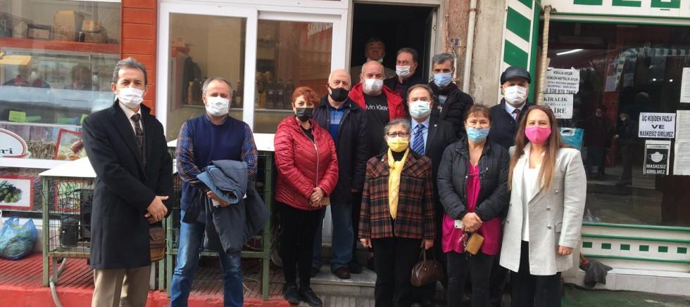 Doğal Gaz Sivil İnsiyatifinden İyi Parti'ye Ziyaret
