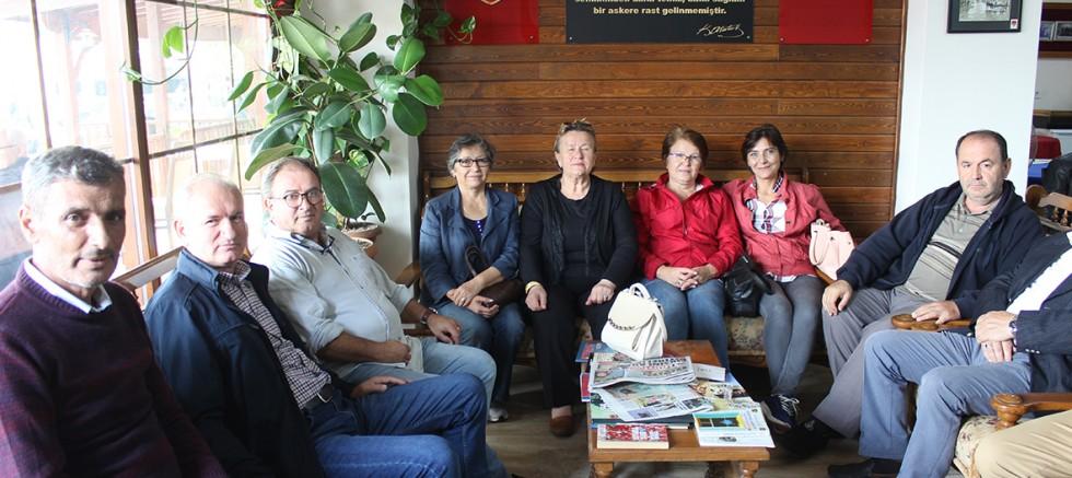Dünya Astsubaylar Gününde TEMAD'a Ziyaret