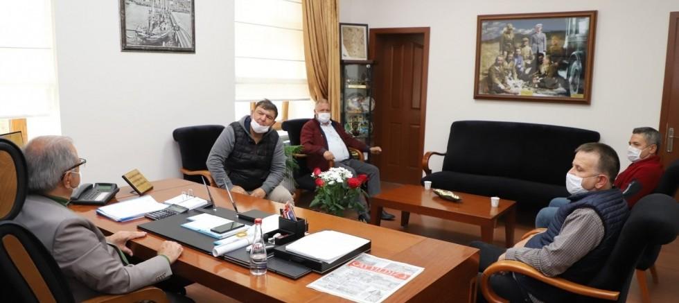 Eraslan'dan Başkan Özacar'a Ziyaret
