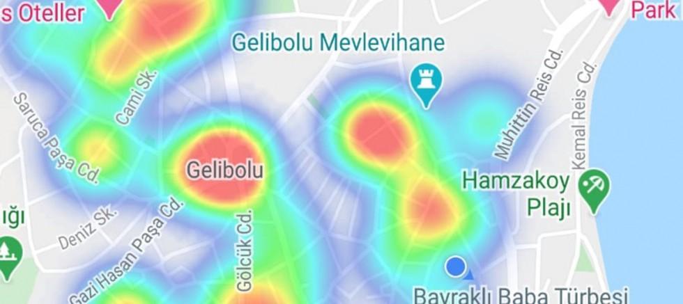 Gelibolu'da Kırmızı Bölgeler Çoğalıyor