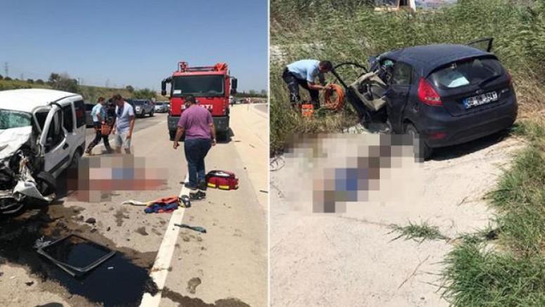 Gelibolu'da Ölümlü Trafik Kazası