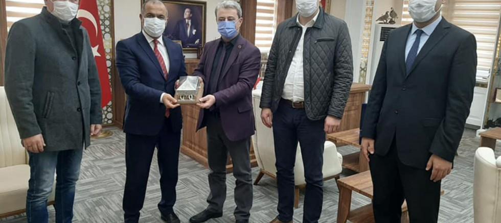 İl Genel Meclis Başkanından Kaymakam Kılınçkaya'ya Ziyaret