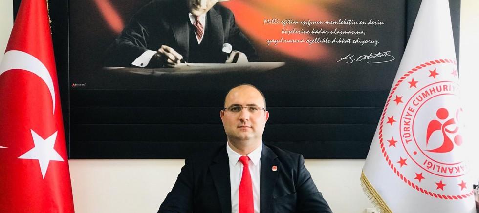 İlçe Spor Müdürü Özdemir'in 19 Mayıs Mesajı