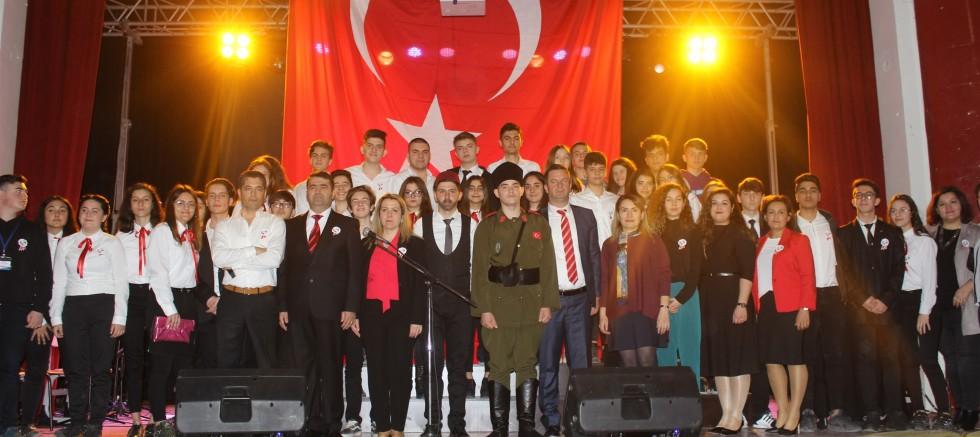 İSTİKLAL MARŞI'NIN KABULÜ VE  MEHMET AKİF ERSOY'U ANMA GÜNÜ YAPILDI