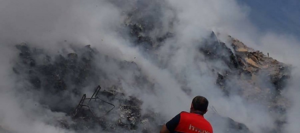 Katı Atık Depolama Alanında Yangın