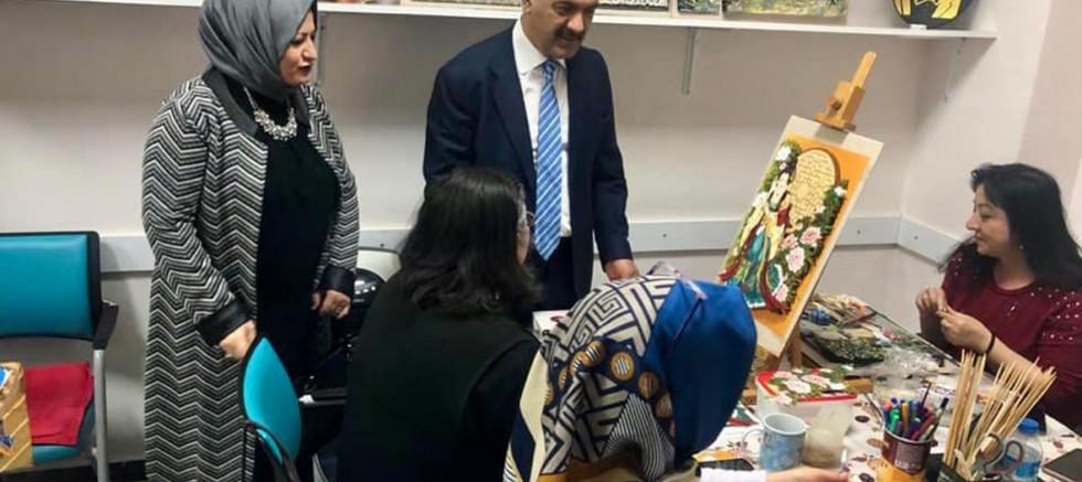 Kaymakam Kılınçkaya'dan SODAM'a Ziyaret