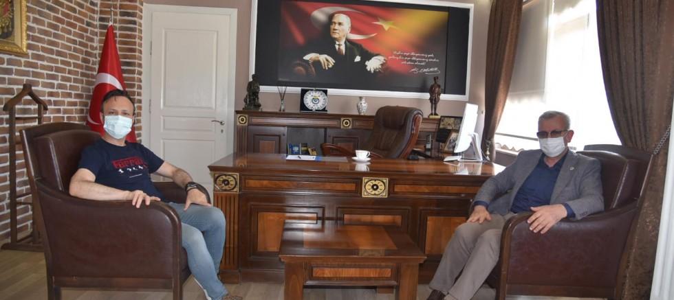 Keşan Belediye Başkanından Evreşe'ye Ziyaret