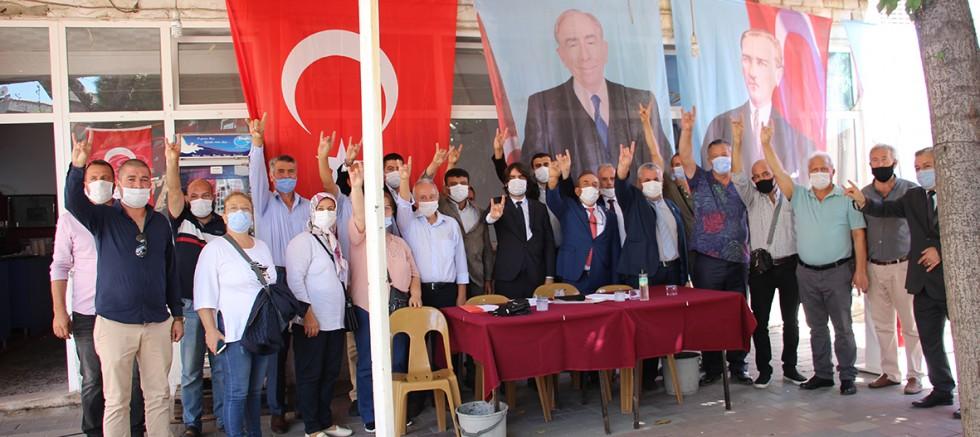 MHP'de, Eyüp Büyükzöngür Güven Tazeledi