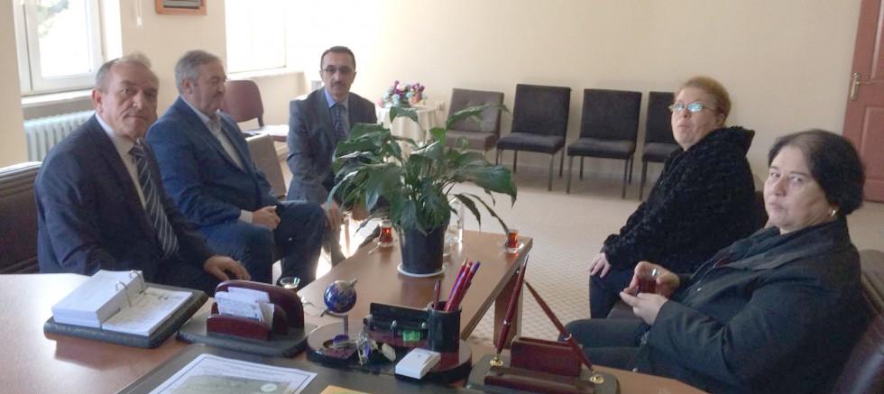 MHP'den Öğretmenlere Sürpriz Ziyaret