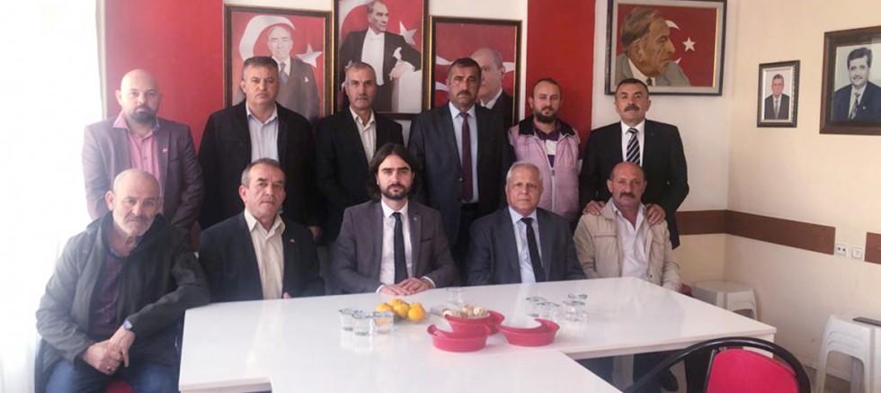 MHP İlçe Teşkilatından Yeni Yönetime Ziyaret