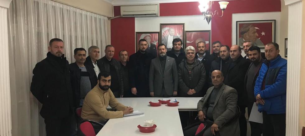 MHP ilçe teşkilatlarını yeniledi