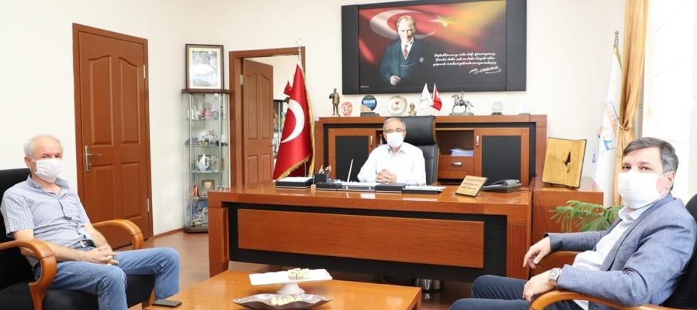 Milletvekili Ceylan'dan Başkan Özacar'a Ziyaret