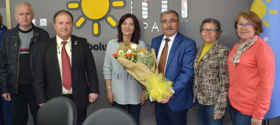 Özacar'dan İYİ Parti'ye Ziyaret