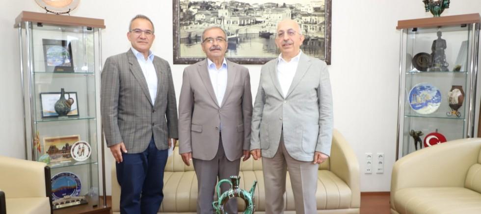 Rektör Murat'tan Başkan Özacar'a Ziyaret