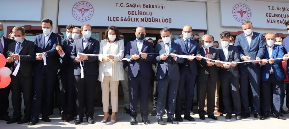 Sağlık Merkezi'nin Açılış Töreni Gerçekleşti