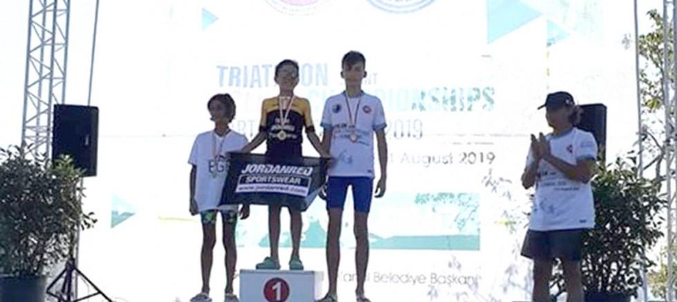 Sporcularımızdan Triatlon Balkan Şampiyonası Başarısı