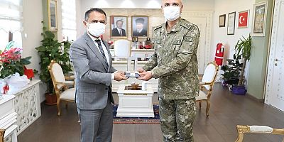 2. Kolordu Komutanı Yaldız'dan Vali Aktaş'a Ziyaret